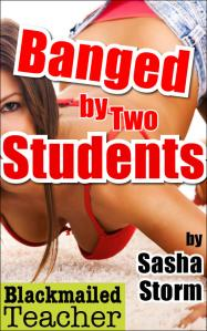 banged by two students cover